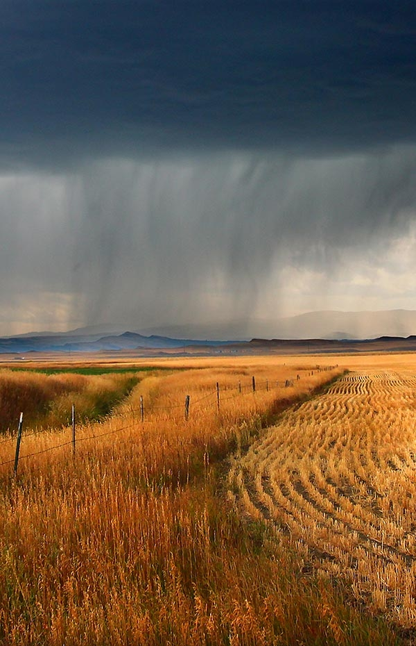 Rural Montana Storm Clouds | ©Jason P Ross | Dreamstime.com